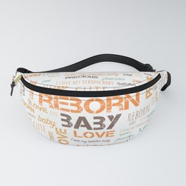 I Love My Reborn Fanny Pack