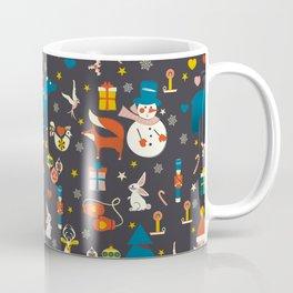 Christmas symbols pattern Coffee Mug