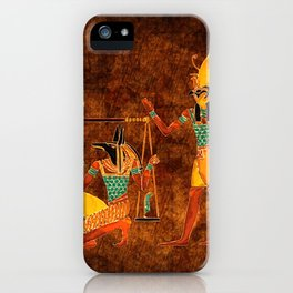 Ancient Egyptian Gods iPhone Case