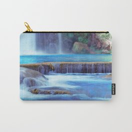 The Pools of Havasupai Falls - Revisited Carry-All Pouch