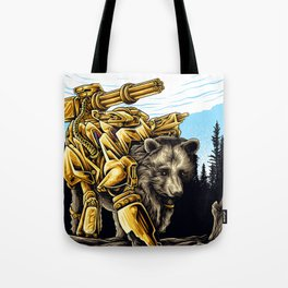 Golden Bearborg Tote Bag