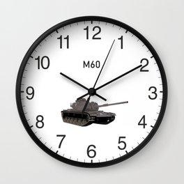 M60 American Battle Tank Wall Clock