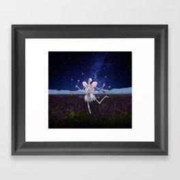 The Death Fairy Framed Art Print
