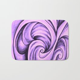 Swirl (NEON PINK) Bath Mat