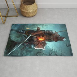 Dark Souls Pixel Bonfire Rug