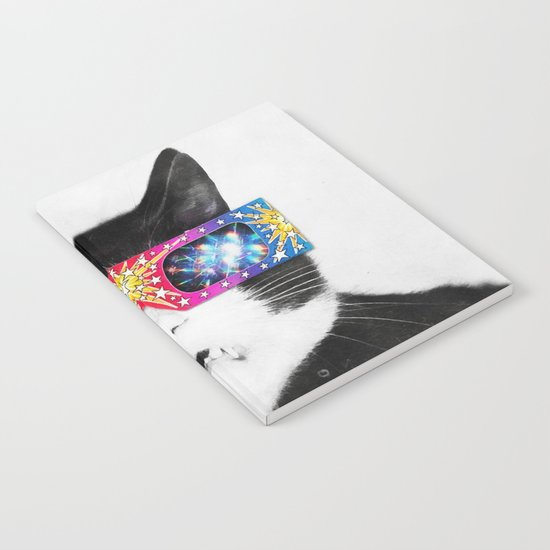 Laser Cat Notebook