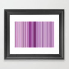 pink sunday Framed Art Print