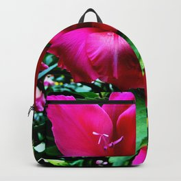 Blushing Gladiola Backpack