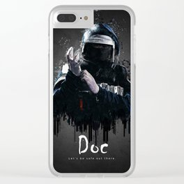 Doc Clear iPhone Case
