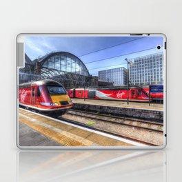 Kings Cross London Trains Laptop & iPad Skin