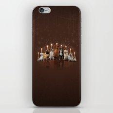 Hot Dog, It's Hanukkah! iPhone & iPod Skin