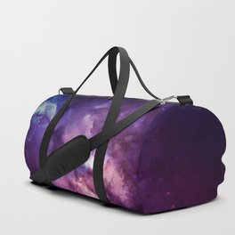 Purple space Duffle Bag