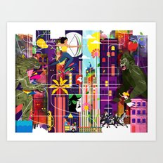 East to East Art Print