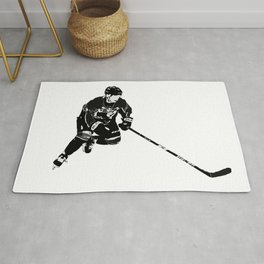 Born for Hockey - Hockey Player Rug