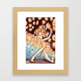 Ruffles and Stars Framed Art Print