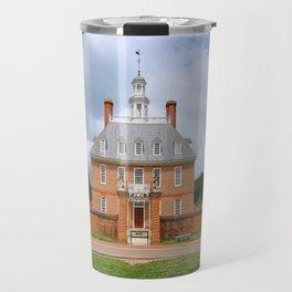 Colonial Williamsburg  Governers Palace Travel Mug