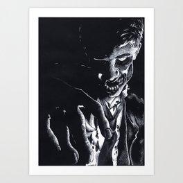 Pretend Like I'm Dead Art Print