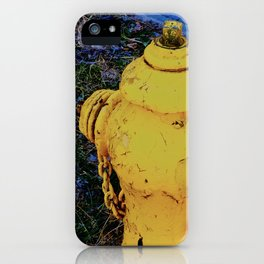 The yellow helper iPhone Case
