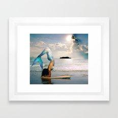 Mermaid Vibes Framed Art Print