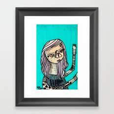 Fearless_Key Framed Art Print