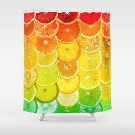 Fruit Madness - Citrus Shower Curtain