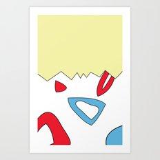 Togepi. Art Print