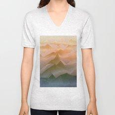 Top of the World (Sunrise) Unisex V-Neck