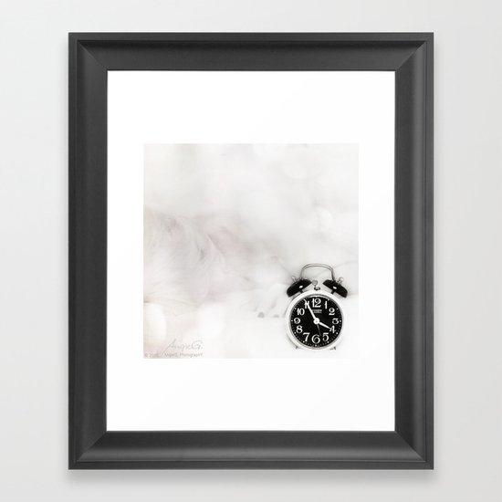 Close to Dawn Framed Art Print