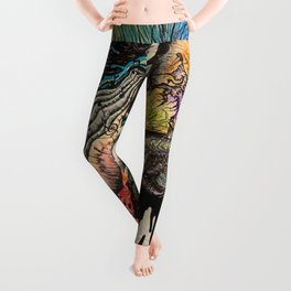 MUSIC LIFELINE Leggings