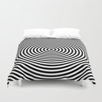 circles Duvet Covers featuring Circles by Beyond Infinite