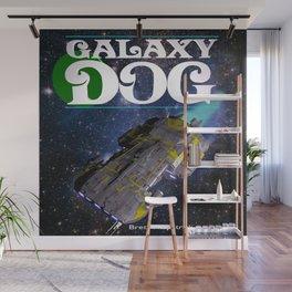 Galaxy Dog Wall Mural