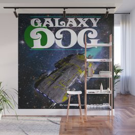 Galaxy Dog Wall Mural