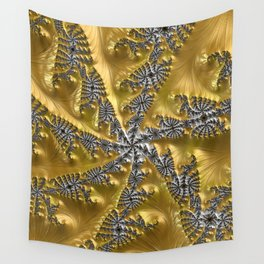 Gold and Silver Wall Tapestry