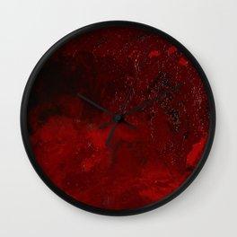 Crenation Wall Clock