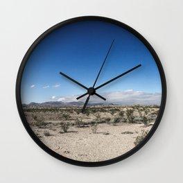 Tornillo Flat Wall Clock