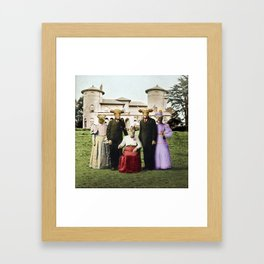 Cowtown Abbey Framed Art Print