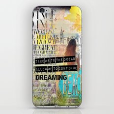 Continue Dreaming iPhone & iPod Skin