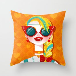 Bitch Please: Sailor Venus Throw Pillow