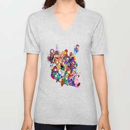 Super Smash Bros. Melee Unisex V-Neck
