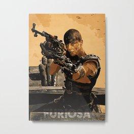 Furiosa Metal Print