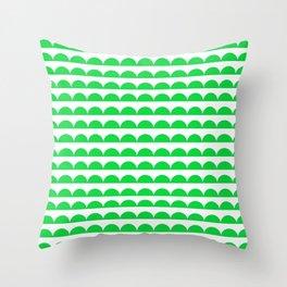BREE ((true green)) Throw Pillow