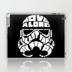 Typography head Laptop & iPad Skin