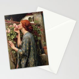 John William Waterhouse, My Sweet Rose, 1908 Stationery Cards