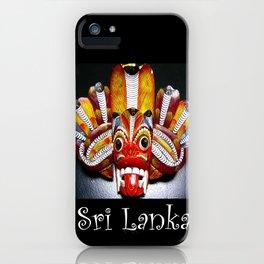 Mask of Sri Lanka iPhone Case