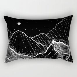 Sea mountains Rectangular Pillow