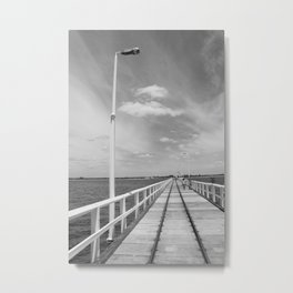 The Jetty Metal Print