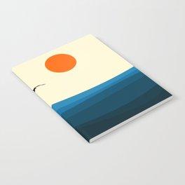 Royal blue ocean Notebook