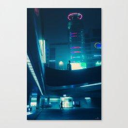 Dongdaemun at Night Canvas Print