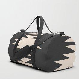 Minimal Southwestern - Charcoal Duffle Bag