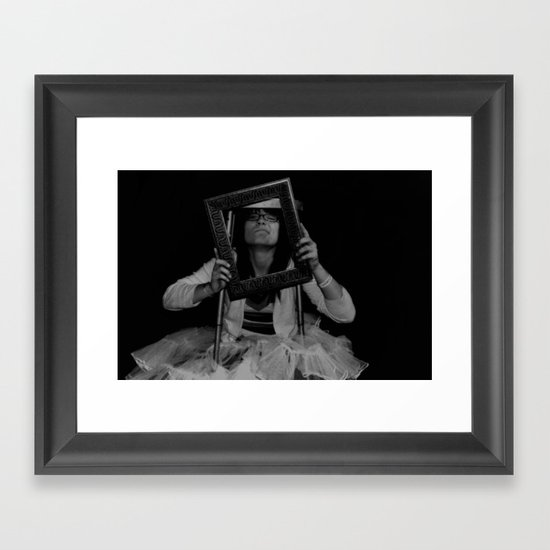 Tight Spaces Framed Art Print